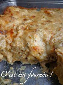 C'est ma fournée !: Les lasagnes aux champignons