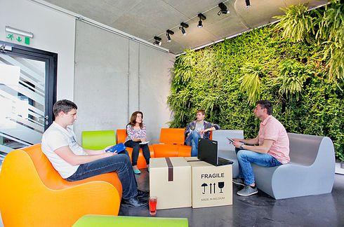 Draugiem à Riga en Lettonie. | 22 magnifiques bureaux qui vont vous faire mourir de jalousie