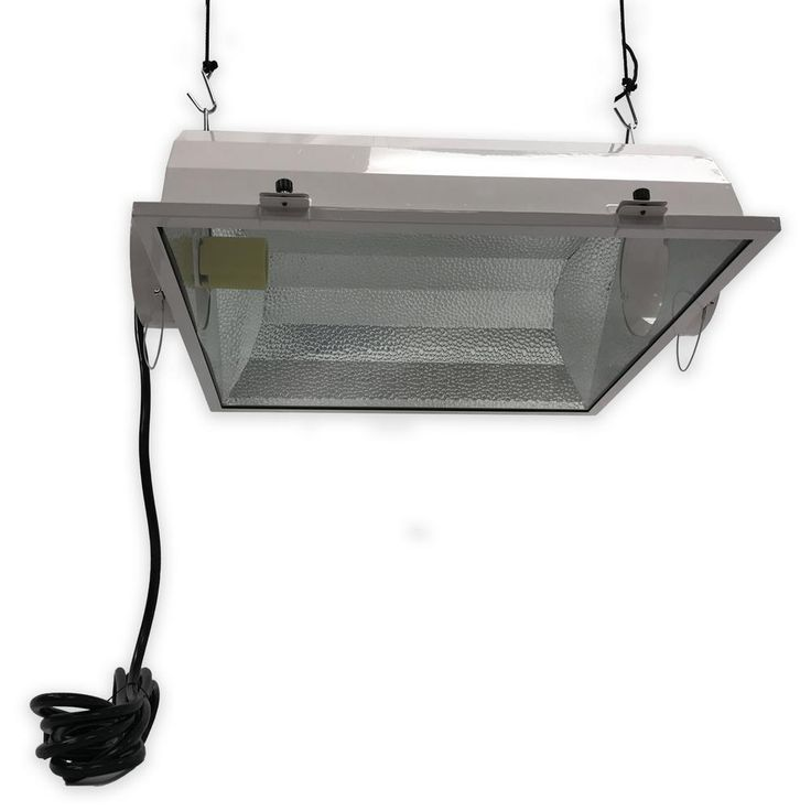 Smart Sun II Reflector 1000W 6 in. 1-Light White High Pressure Sodium Air-Cooled Grow Light with 5KV Socket & 16ft. Cord