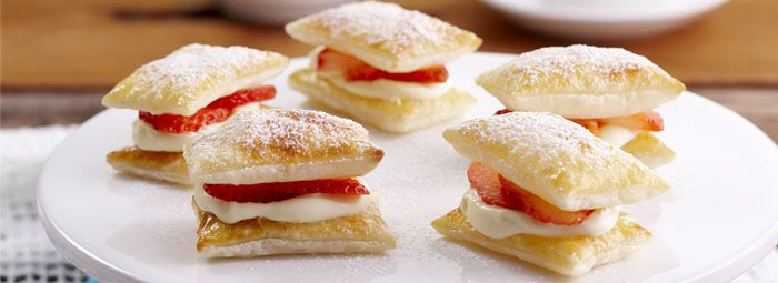 these quaint puff pastries are a high tea treat sweet