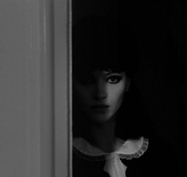 theswinginsixties:  Anna Karina in 'Alphaville', 1965.