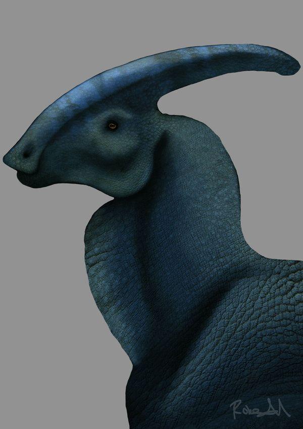 Parasaurolophus walkeri by Rob Halfpenny on DeviantArt