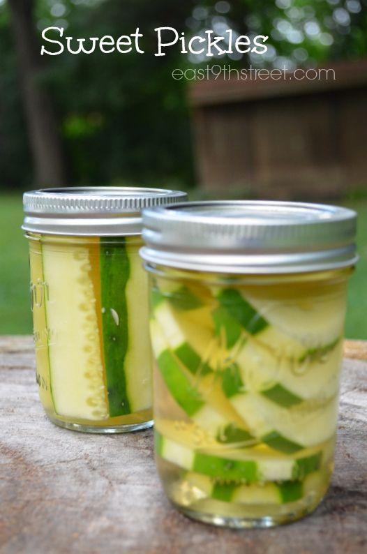 Sweet Pickles using @Julie Forrest 'Lemin' Heinz Vinegar #sponsored