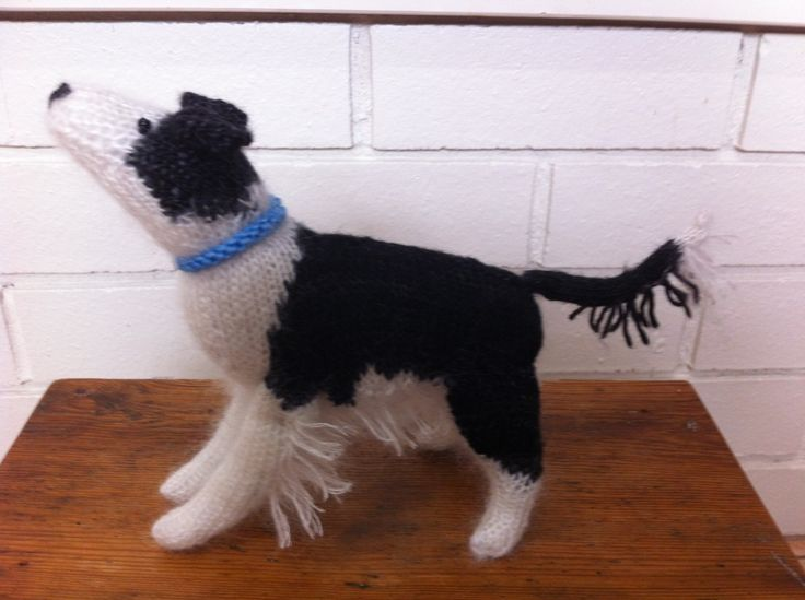 Kerri's Border Collie. Knitting Pattern from the Best in Show series.