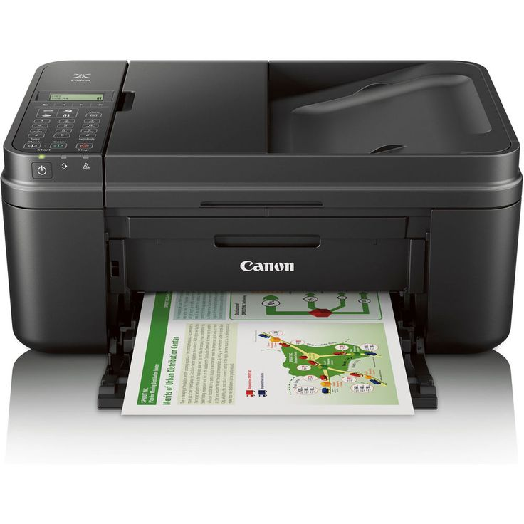 Canon PIXMA MA 492 Wireless Office Color Printer All-In-One Scanner Copier Black