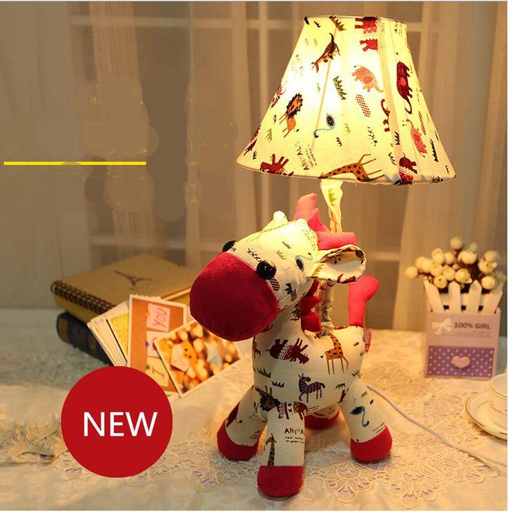 Современная мода прекрасный романтический ткань верховая светодиодные e14 настольная лампа для детской комнаты новые творческие детский подарок рабочий стол лампы 1977