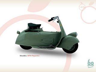 MP5 (moto piagio 5) paperino diproduksi tahun 1943