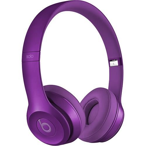 Beats by Dr. Dre - Solo 2 On-Ear Headphones - Imperial Violet - Larger Front