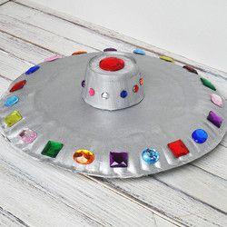 Crafts / bastelideen zur Space party