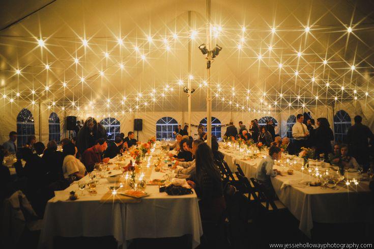 Italian Lighting - 40x60 Century Tent cafe lighting Reception Pinterest Wedding, String ...