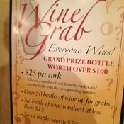 Perfect Wine Grab Signage at Your Charity Auction
