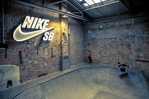 sportsnational:  RAW Skatehalle - Nike SB Shelter (Friedrichshain)