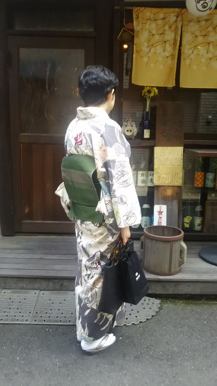小倉充子作 琉球美味図鑑浴衣