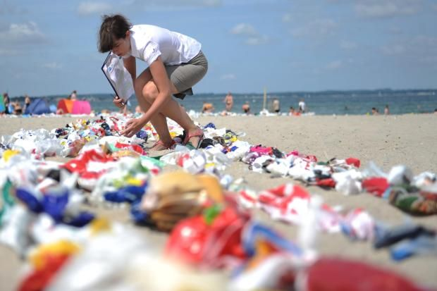 Deutschland prüft Steuer auf Plastiktüten