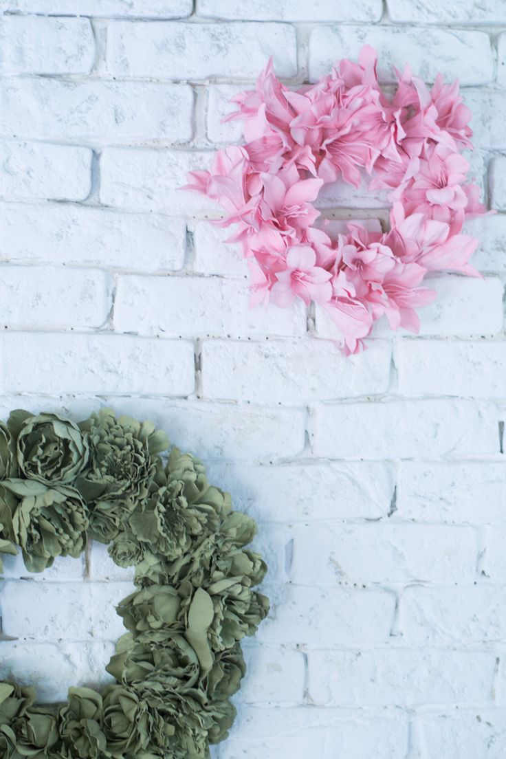 Mini corona flores artificiales – La chimenea de las hadas