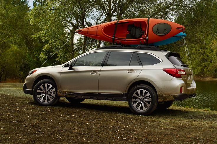 subaru outback 2015 | 2015 Subaru Outback with kayaks