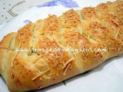 CHEIRINHO DE COISA BOA - Pão 3 queijos!