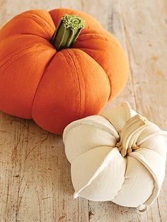 Sewing Patterns for Fall Pumpkin Trio Pattern Sewing pumpkins in different fall…