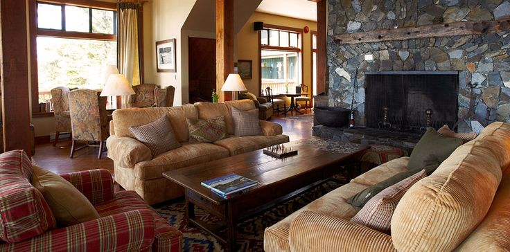 The lounge at Middle Beach Lodge, Tofino, BC ... Fresh baked cookies every night