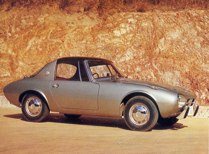 Toyota Sports 800 Model UP15 (1965)