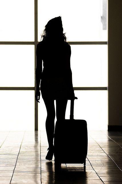 flight attendant <3... I wonder if that skirt is altered.