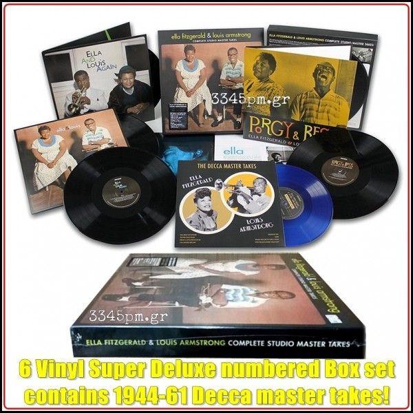 Ella & Louis Complete Studio Master Takes - Vinyl 6LP Deluxe Box set