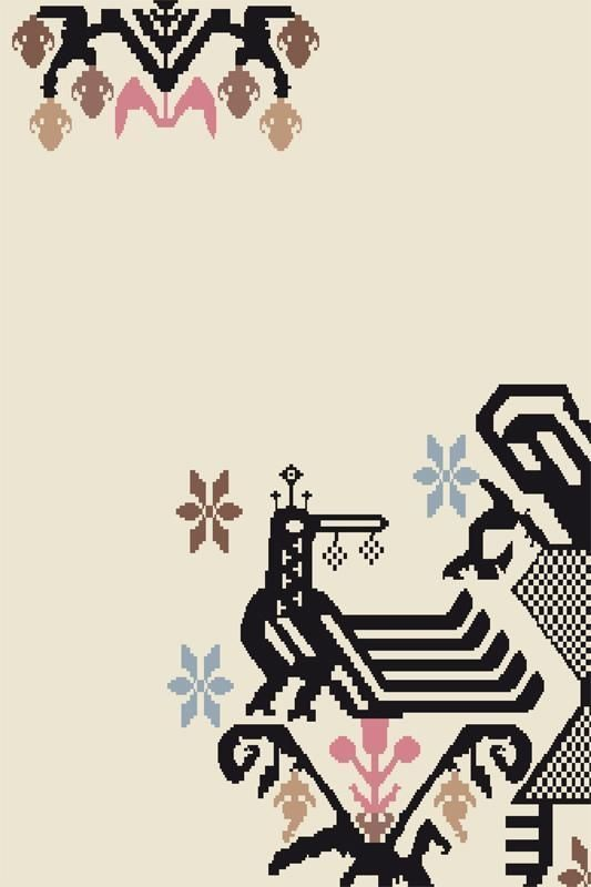 Contemporary rug designed by Patricia Urquiola / handmade / wool / patterned SARDINIAN  MOROSO