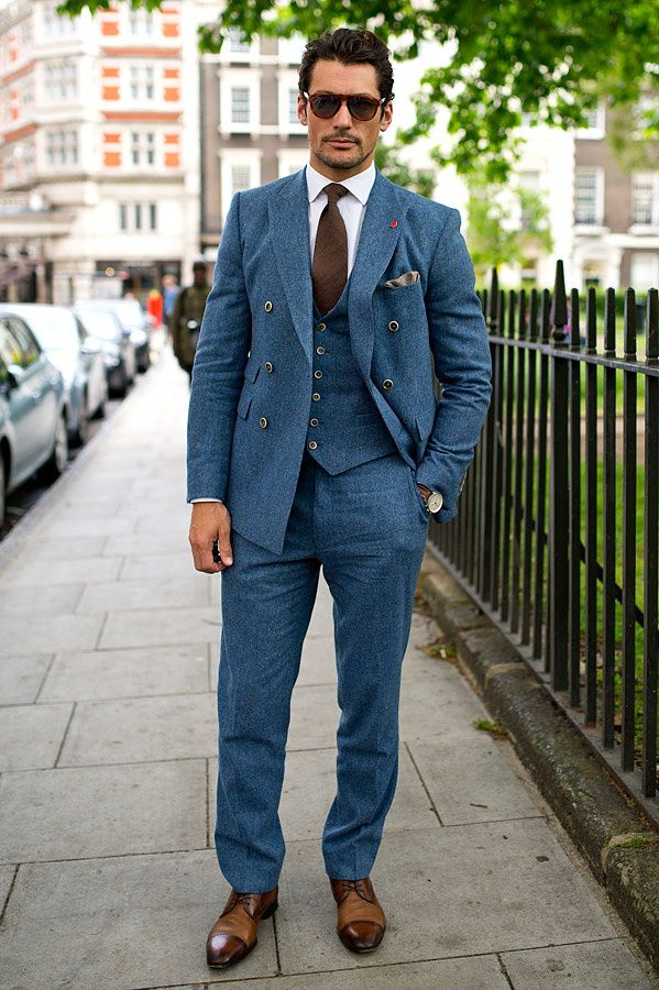 Streetwear London Collections: Men. David Gandy.