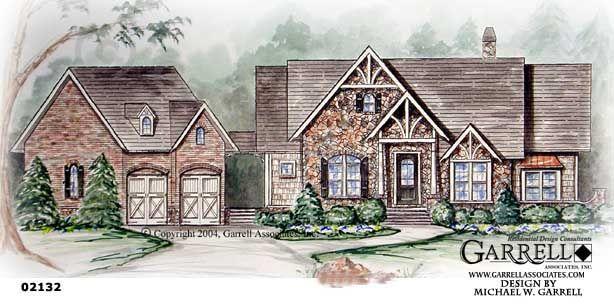 Garrell associates inc hartwell cottage house plan for Garrell and associates house plans