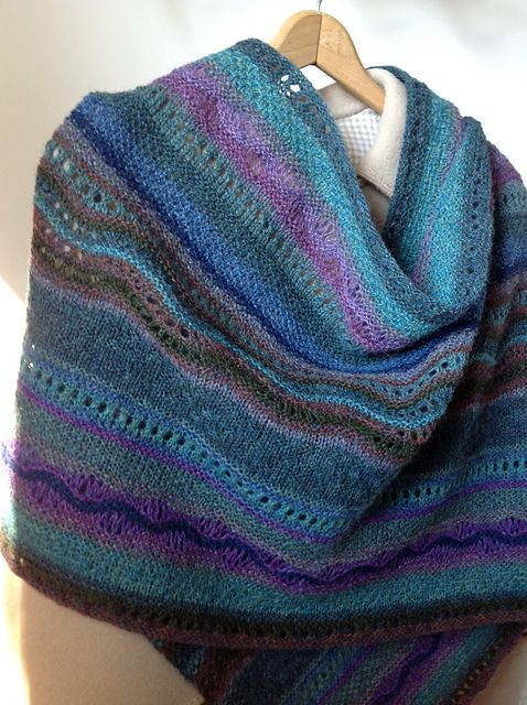 Ravelry Project Gallery For Stitch Sampler Shawl Pattern