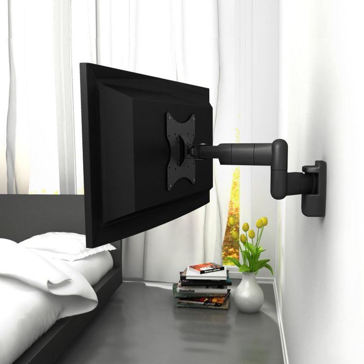 corliving lm1230 tv motion wall mount for 10 32 in tvs