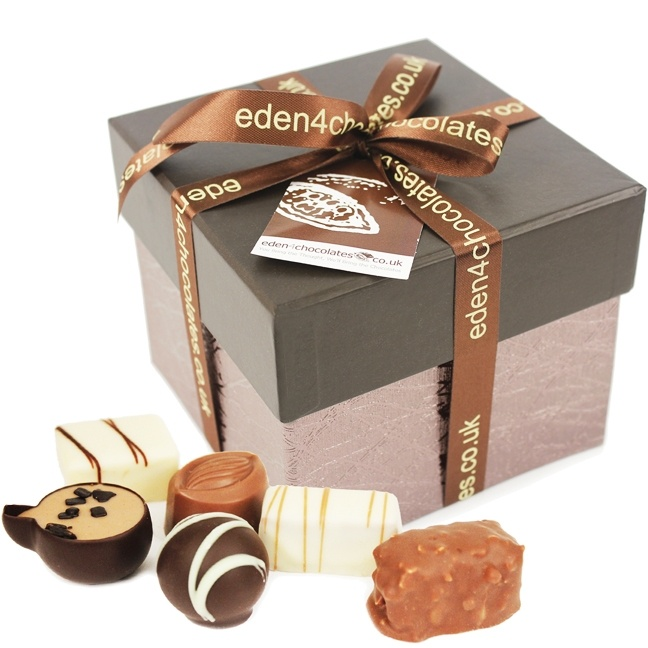Give someone an Eden Large Keepsake Chocolates Cube this Valentine's Day