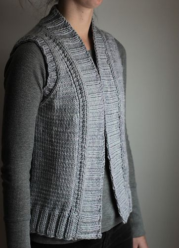 Ravelry: Nordic Trail vest pattern by Elizabeth Smith