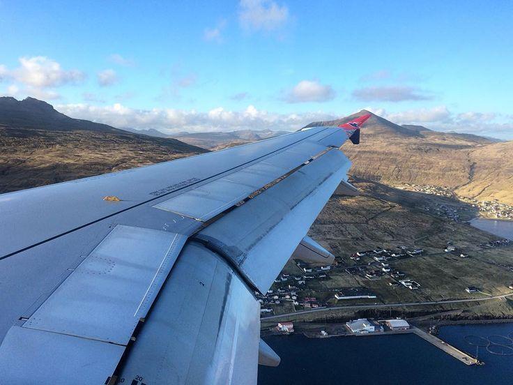 Back in the Faroes   #faroe #islands #faroes #landscape #mountains #sunset #sunset #nature #beautiful #travel #travelling #backpacking #exploring #landscape_lovers #scandinavia #faroeislands #atlanticairways #sea #airbus #a319 #avgeek #aviation #aircraft #vagar #airport #landing by samhampo