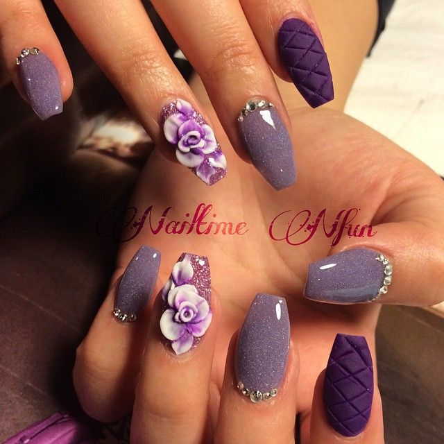 Is that  am i Love  #nails #nailtimenfun #acrylicnails #nailart #naildiva #nailgame #nailgasm #nailporn #nailswag #nailcraze #nailmania #nailaddict #nailbling #nailfashion #nailobsession #nails2inspire  #Texturednails #3dnails #purplenails