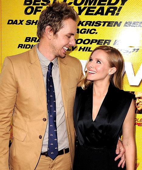 Dax Shepard and Kristen Bell.