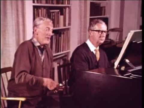 Peter Pears & Benjamin Britten - on Winterreise (1827) - Franz Schubert
