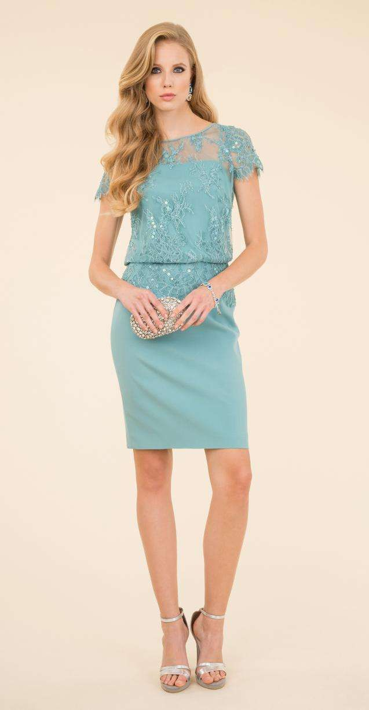 Vestito da cerimonia blu Luisa Spagnoli.  ec40b72d1e3e