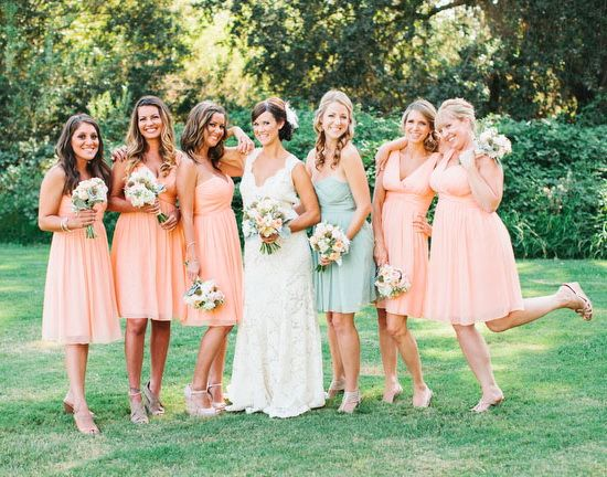 91 best images about Peach Wedding Theme on Pinterest
