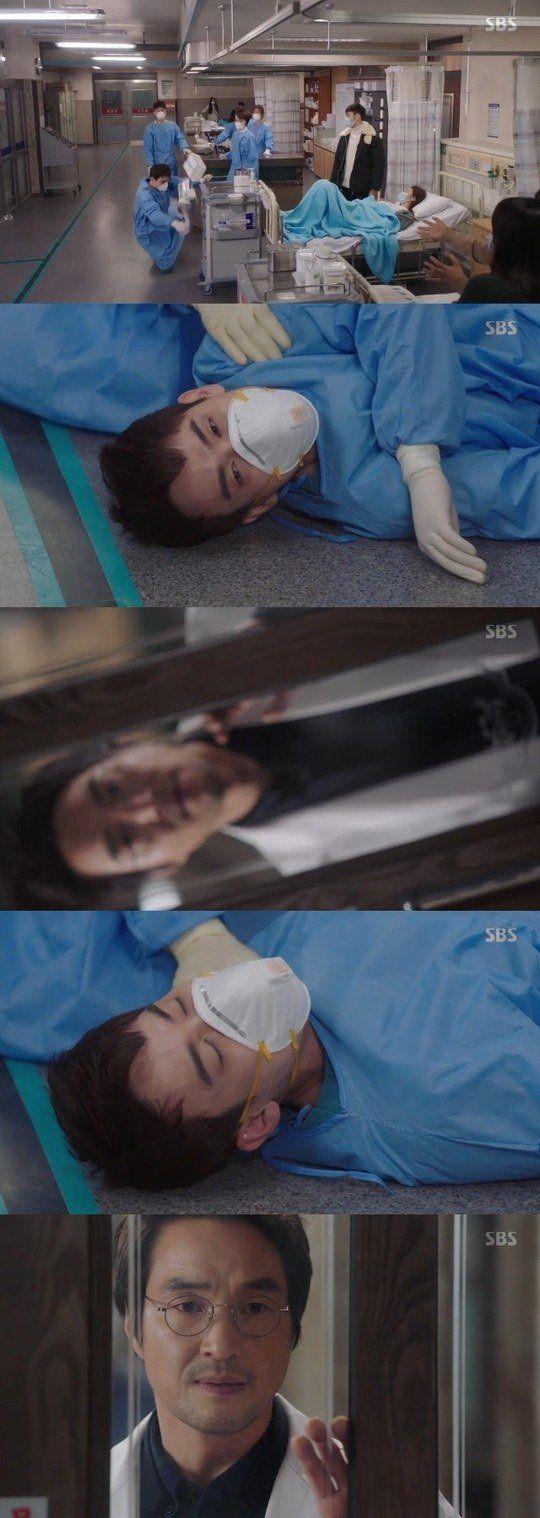 "[Spoiler] ""Romantic Doctor Teacher Kim"" Han Seok-kyu witnesses Yoo Yeon-seok fainting"