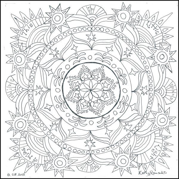 Adult Coloring Book Chapter 3 It Takes All Kinds The Universal Need To Express