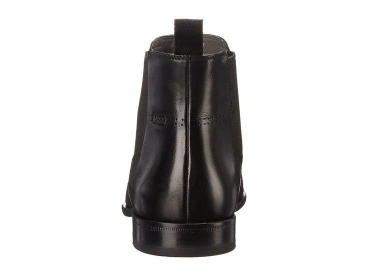 BOSS Hugo Boss C-Hubot by HUGO Men's Dress Pull-on Boots Black