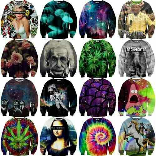 Dope sweaters.