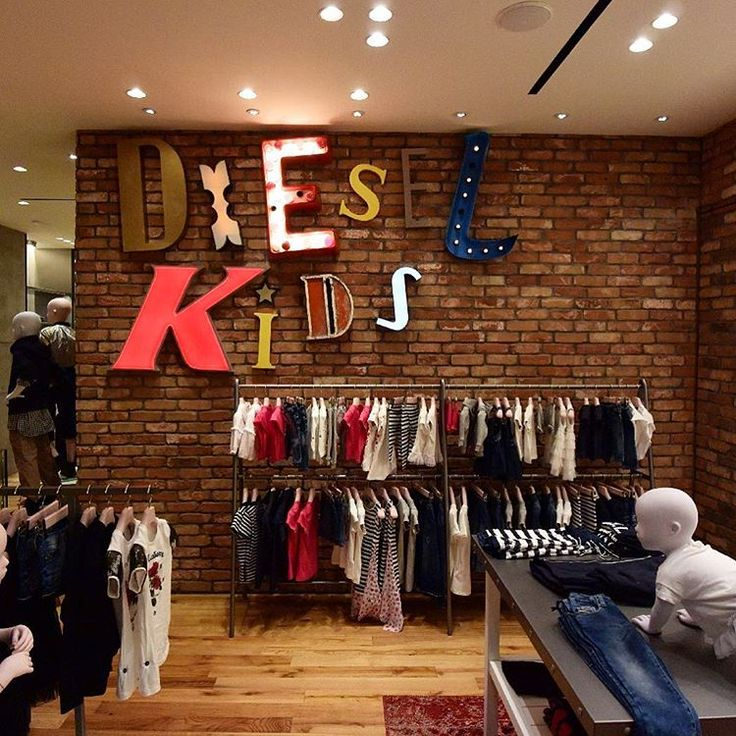 """DIESEL KIDS, Milan, Italy, """"Cool Kids Don't Stop"""", photo by LArchitetto Paga, pinned by Ton van der Veer"""