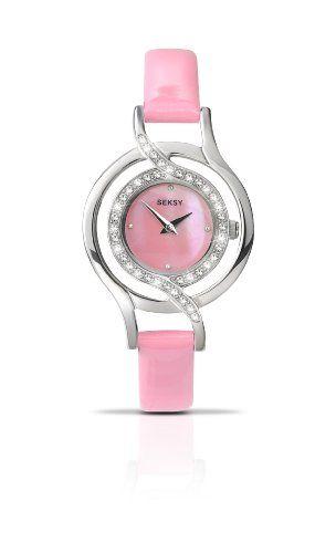Seksy - 4526.27 - Montre Femme - Quartz Analogique - Bracelet Cuir Rose