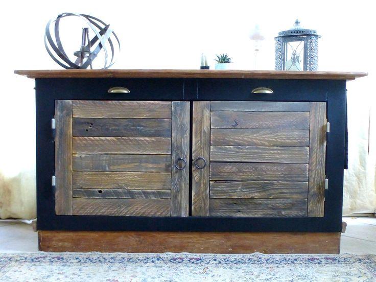 beau buffet style bistrot chic meubles et rangements par dcosmose rangements commodes. Black Bedroom Furniture Sets. Home Design Ideas