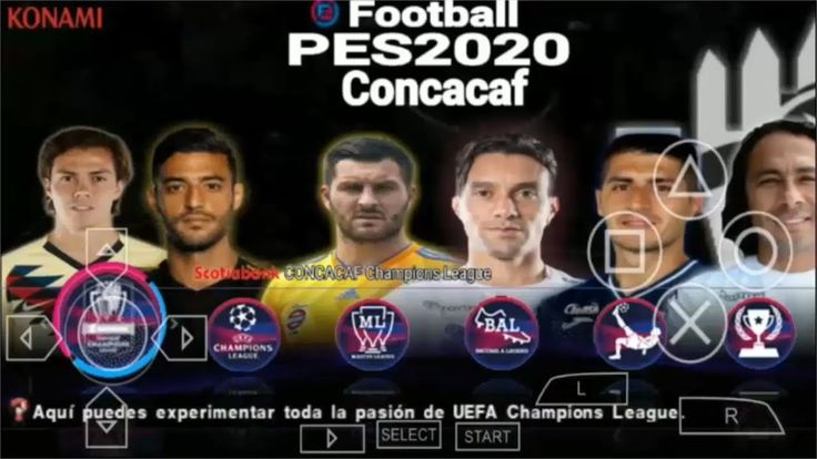 LANZAMIENTO OFICIAL PES 2020 CONCACAF PPSSPP ANDROID