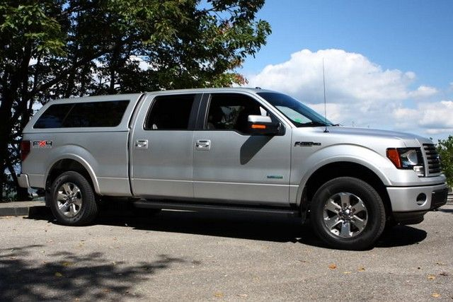 Ford F150 Camper Shell 4