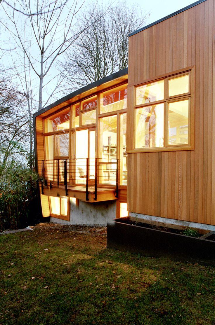 Modern Home Paneled With Western Red Cedar Modern