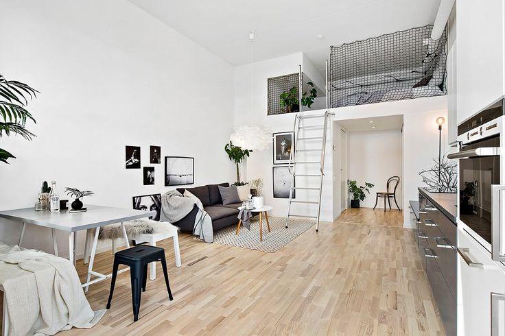 Scandinavian loft Follow Gravity Home: Blog - Instagram - Pinterest - Bloglovin - Facebook